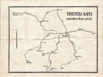 Stara izletnička karta Samoborskog gorja s označenim željezničkim prilazom Samoboru; Preneseno s Foruma Kluba ljubitelja željeznica