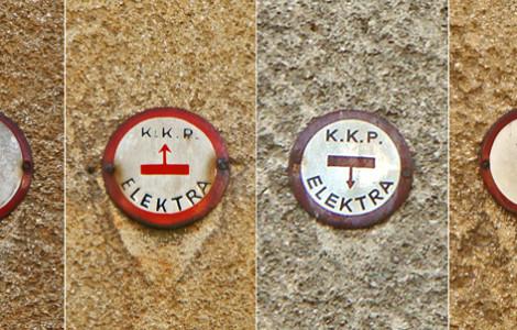 K.K.P. – G.E.C./Elektra – oznake kućnih kabelskih priključaka