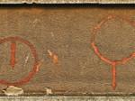 Oznake za skloništa ucrtane za vrijeme II. svjetskog rata