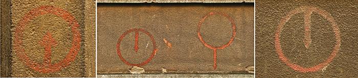 Oznake za skloništa u Drugom svjetskom ratu