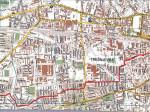 Dio rute Rudeš-Ljubljanica-Trešnjevka-Centar. Ucrtao: Vanja