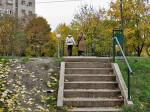 Padina uz potok Črnomerec uz koju treba uzgurati bicikl – uzlazna rampa bi ovdje jako dobro došla! Snimio: Vanja
