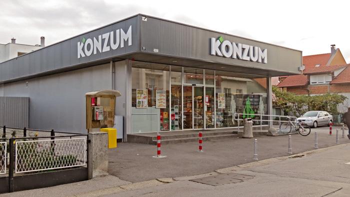 Davno sagrađena trgovina u Kružnoj ulici - Staglišće - u ponovnom sjaju [VR 2013.]