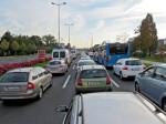 Jutarnja prometna gužva na Zagrebačkoj aveniji [VR 2013.]