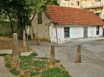 Klasični armirano-betonski stupići na kraju Melengradske ulice [GP 2013.]