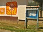 Oronula oglasna ploča Mjesne zajednice kod Nehajske ulice [GP 2013.]