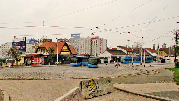 Tramvajsko okretište Savski most