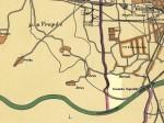 Pregledna karta - Gredice 1929.