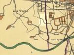 Pregledna karta - Ljubljanica 1929.