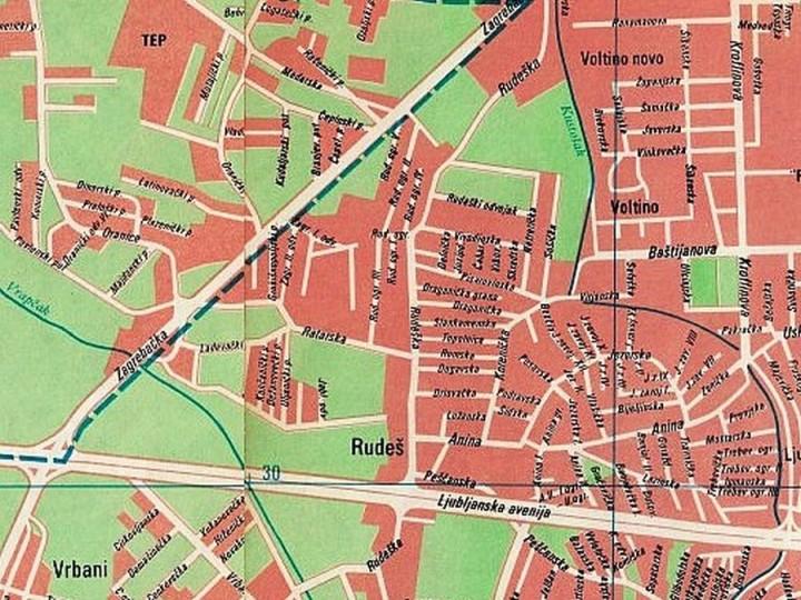 Rudes Mapiranje Tresnjevke