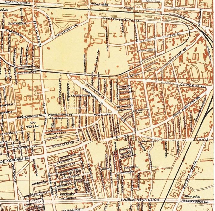 Stara trenjevka mapiranje trenjevke stara trenjevka 1959 thecheapjerseys Gallery