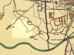 Pregledna karta - Vrbani 1929.