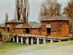 Izgled i stanje centralnog objekta Gradskog kupališta u 80-ima [VT 1987.]