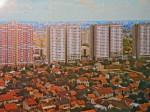 "Zračna snimka Gajeva iz 1982. godine - preneseno iz knjige ""Crvena Trešnjevka"""
