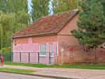 Obiteljska kuća u Peščanskoj u kojoj je 80-ih djelovao pastoralni centar župe - sada dječji vrtić Montessori u Macanovićevoj ulici [VR 2013.]