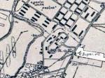 Bugarski vrt u Prečkom (karta iz 1944.)