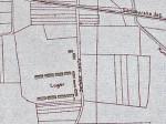 """Karta područja oko kasarne """"Selska"""" iz 1923. godine [VR]"""