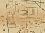 """Karta područja oko kasarne """"Selska"""" iz 1926. godine [VR]"""