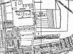 """Karta područja oko kasarne """"Selska"""" iz 1932. godine [VR]"""
