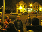 """Okupljanje sudionika """"Predbožićne trešnjevačke dijagonale"""" 22.12.2013. kod starog Samoborskog kolodvora [GP 2013.]"""