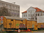 Zgrada Carinarnice (pri Željeznici) kao jedna od najstarijih zgrada u Zagorskoj ulici [GP 2013.]