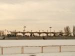 """Atletski stadion """"Mladost"""" na Savi s tribinom [GP 2013.]"""