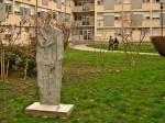 "Skulptura u krugu Studentskog doma ""Dr. Ante Starčević"" [GP 2013.]"