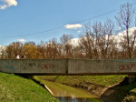 Most preko Vrapčaka na sjeveroistočnom prilazu jezeru Jarun [GP 2013.]