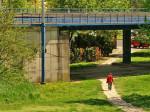 Željeznički nadvožnjak preko Ulice grada Vukovara i zelena površina Andrašecove ulice [GP 2013.]