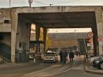 Glavni tramvajski izlaz/ulaz u spremištu tramvaja ZET-a [GP 2013.]