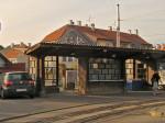 Bivša nadstrešnica i otpremnikova kućica na tramvajskoj stanici na sâmom okretištu Remiza [GP 2013.]