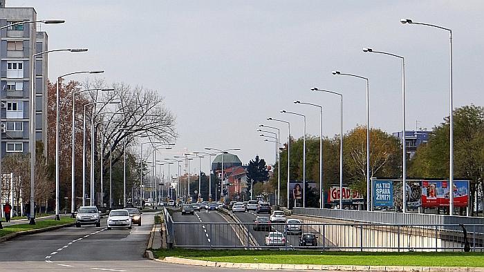 Podvožnjak Zagrebačke/Slavonske avenije ispod Savske ceste