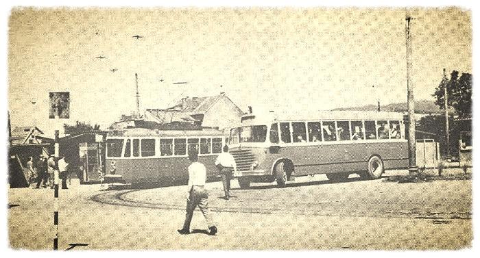 Autobusni gradski i prigradski promet na Trešnjevci
