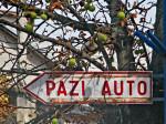 Stari natpis u Kučerinoj ulici [VR 2013.]