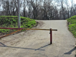 Rampa na ulazu u pješačku zonu Jaruna iz Gredica [GP 2014.]