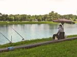 Ribiči na obali veslačke staze [VT 2008.]