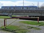 Rampa na okretištu Savski most - stvarni ulaz na trešnjevački dio Savskog nasipa [GP 2014.]