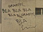 """Primjer uništavanja pod krinkom """"grafitiranja"""" na Opatijskom trgu [GP 2014.]"""