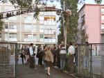 """Sudionici šetnje kod bivše """"Tvornice dugmadi"""" na Savskoj cesti [GP 2014.]"""