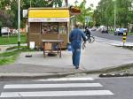 Pješački prijelaz kod Shopping centra Prečko [VR 2014.]