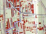 Stubička ulica na planu grada iz 1947. [VR 2014.]