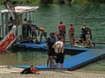 Upravljačka stanica linije za skijanje na vodi na Malom jezeru [GP 2014.]