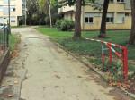 "Rampa na kolnom prilazu Studentskom domu ""Šara"" od Nove ceste [GP 2014.]"
