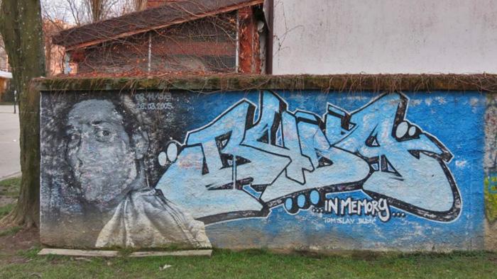 In memoriam mapiranje tre njevke for Mural u vukovarskoj ulici