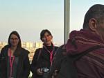 Sudionici razgledavanja na posljednjem katu zgrade Sky Office-a [GP 2015.]