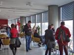 Sudionici razgledavanja na posljednjem katu zgrade Sky Office-a [MS 2015.]