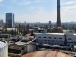Trešnjevka gledana s terase zgrade u Magazinskoj ulici – pogled prema jugu [VR 2015.]