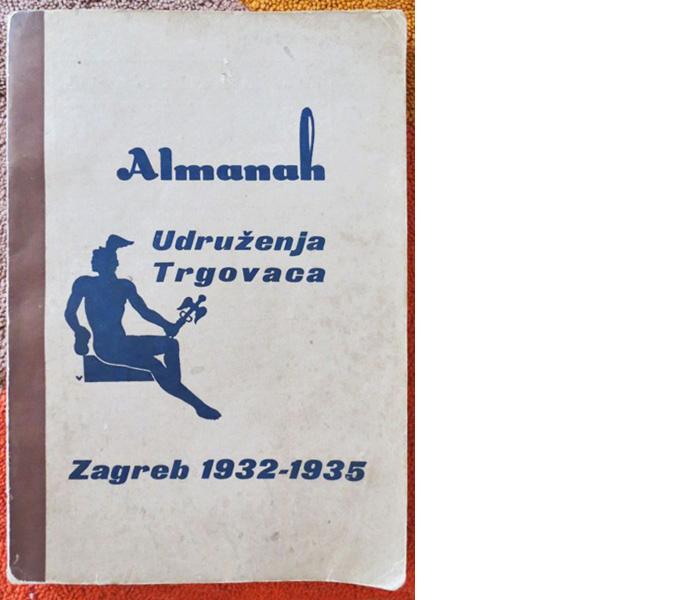 Almanah Udruženja trgovaca, Zagreb, 1932.-1935.
