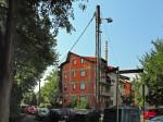 Nestandardan stup električne mreže i javne rasvjete u Čakovečkoj ulici [GP 2015.]
