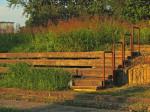 Zapuštene tribine napuštenog igrališta uz Kineziološki fakultet [GP 2015.]